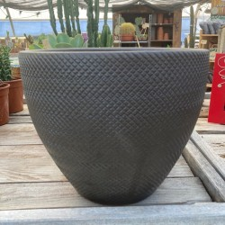 Vase Texture 35 Brun