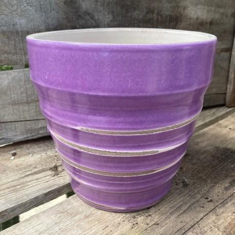 vase vintage purple d18
