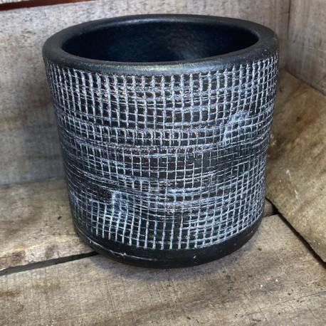 Finger cache pot noir 11