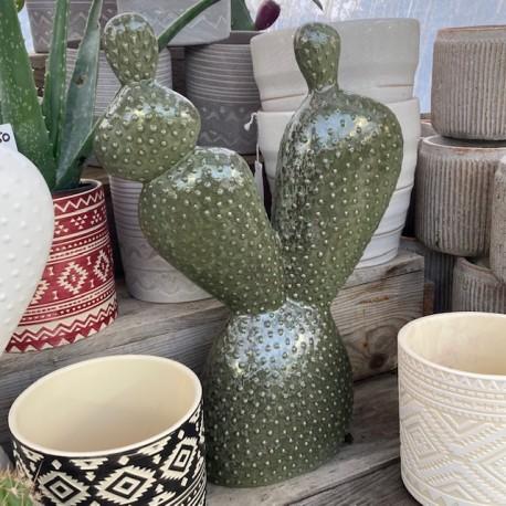 cactus trio sujet vert N11 deco