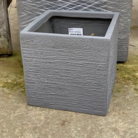 STRIA POT CARRE GRIS 40